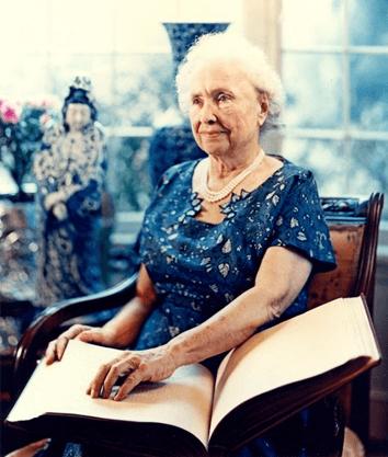 Historias de superação, Hellen Keller